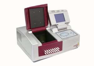 split-beam spectrophotometer